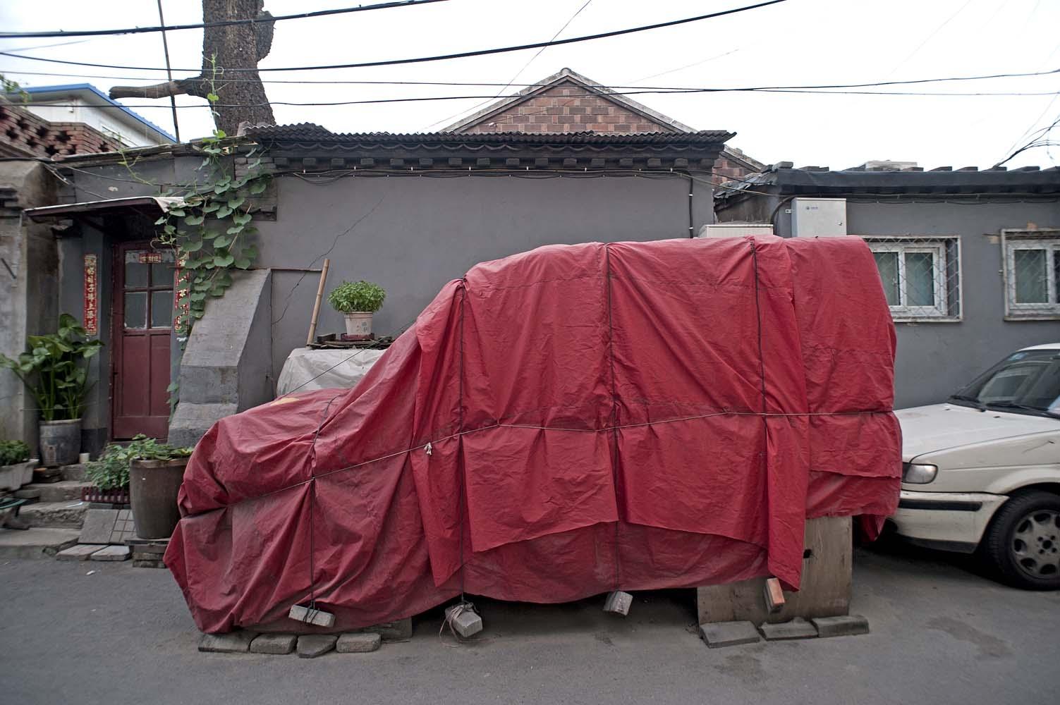 voiture voilée pekin 6